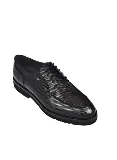 Dr.Flexer 117803 HakıkıDerıErkek Comfort Ayakkabı Sıyah Açma Siyah